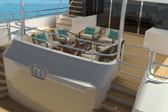 Motor Yacht Martinique - aft deck