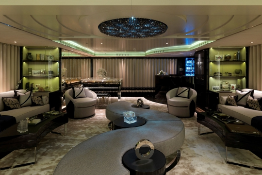 Motor Yacht Sealyon - main salon