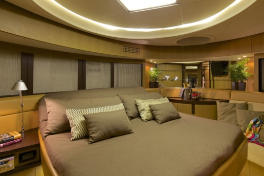 Motor Yacht Solaris - guest cabin
