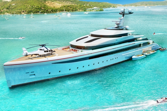 Peter Insull's   Yacht Concept for Sale   Superyacht Design