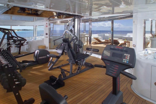 Motor Yacht Apogee for sale - gym