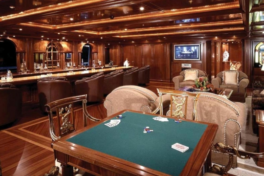 Motor Yacht Apogee for sale - game table