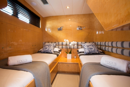 Motor Yacht Vogue - twin cabin