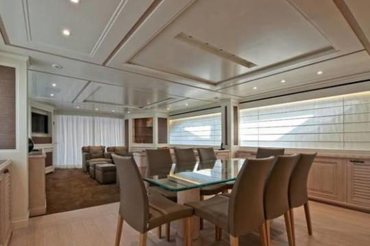 Motor Yacht SD92 for sale - formal dining