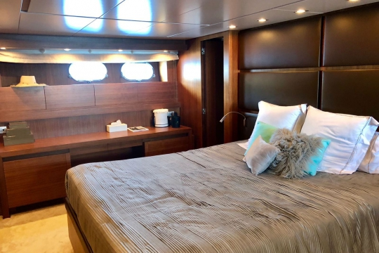 Sanlorenzo SL 88 yacht for sale - master stateroom