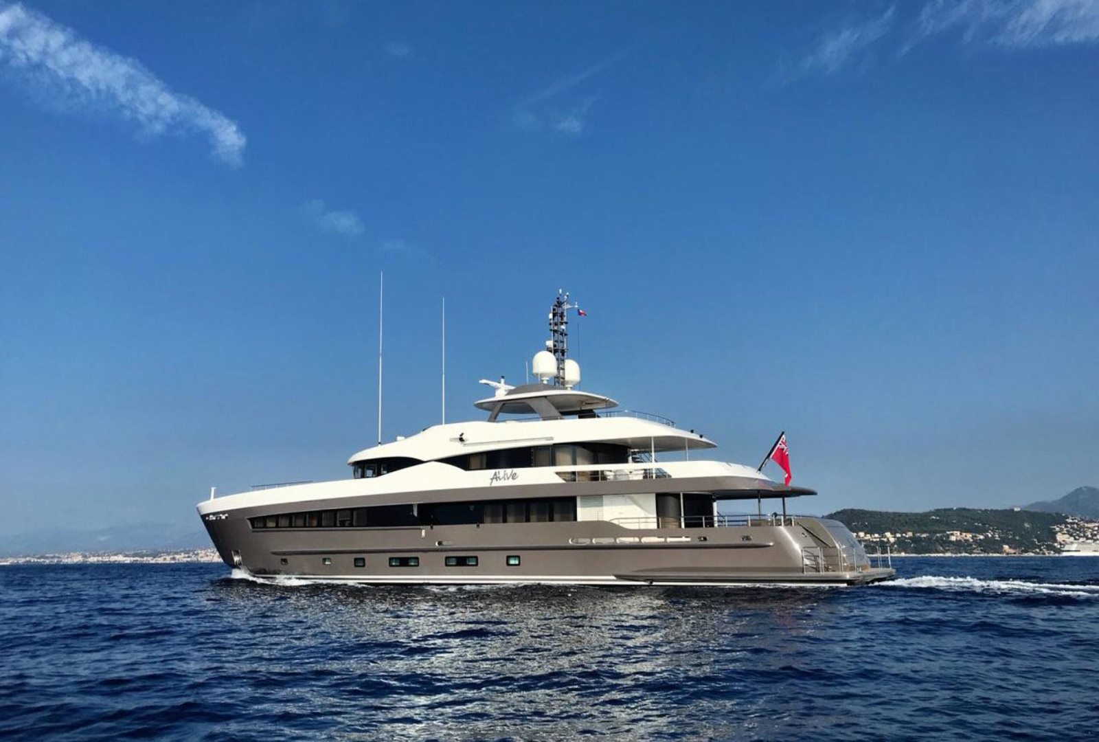 Heesen Alive yacht for Sale | Heesen Yacht for Sale with