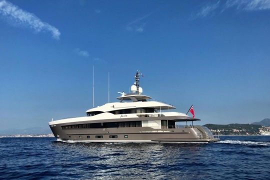Heesen yacht Alive for sale