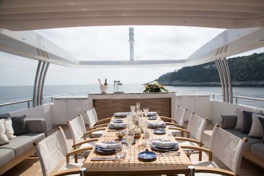 Princess 40M - Princess 40m yacht for sale - sundeck.jpg