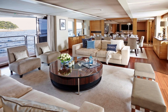 Princess 40M - Princess 40m yacht for sale - main deck salon.jpg