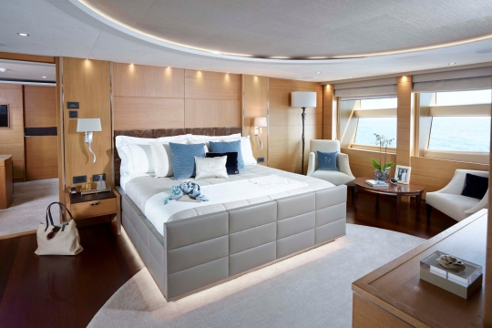 Princess 40M - Princess 40m yacht for sale - master stateroom main deck.jpg