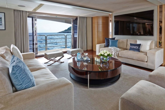 Princess 40M - Princess 40m yacht for sale - salon.jpg