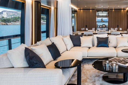 Custom Line 120 - Custom Line 120  yacht for sale - main deck salon.jpg