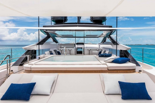 Custom Line 120 - Custom Line 120  yacht for sale - flybridge.jpg