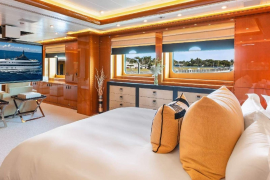 Monaco yacht Show Luna B - Oceanco yacht Luna B available for sale - master stateroom.jpg