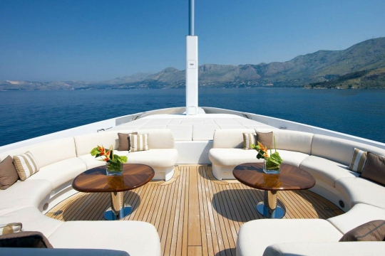 Andreas L  - benetti yacht for charter andreas L - foredeck.jpg