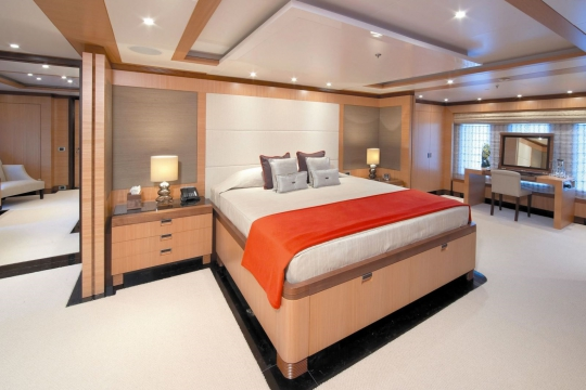 Andreas L  - benetti yacht for charter andreas L - master stateroom.jpg