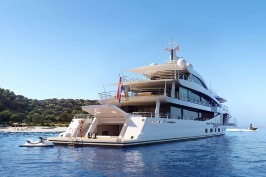 Amels 200 - New build Amels 200 yacht for sale - anchor beach club.jpg
