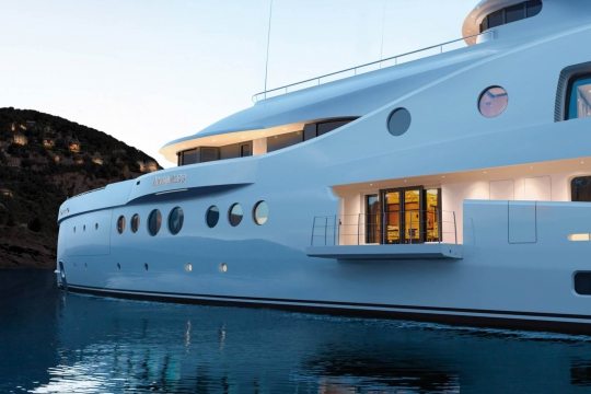 Amels 206 - New buils Amels 206 yacht for sale - folding balcony.jpg