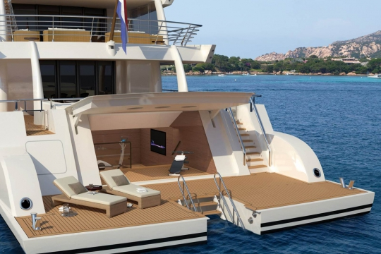 Amels 206 - New buils Amels 206 yacht for sale - beach.jpg