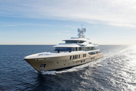 Amels 242 - New build Amels 242 yacht for sale - cruise.jpg