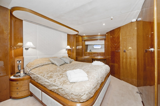 Motor Yacht Anne Viking Princess for charter - vip cabin