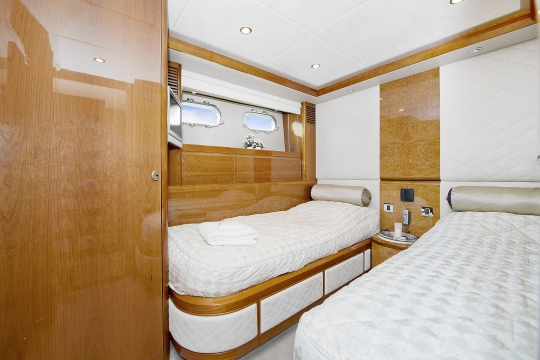 Motor Yacht Anne Viking Princess for charter - twin cabin