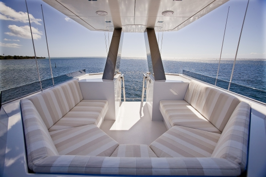 Motor Yacht Big Fish for charter - lookout lounge