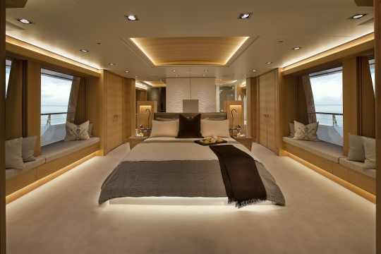Motor Yacht Big Fish for charter - vip stateroom2
