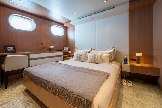 Motor Yacht Go Feadship for charter - double cabin