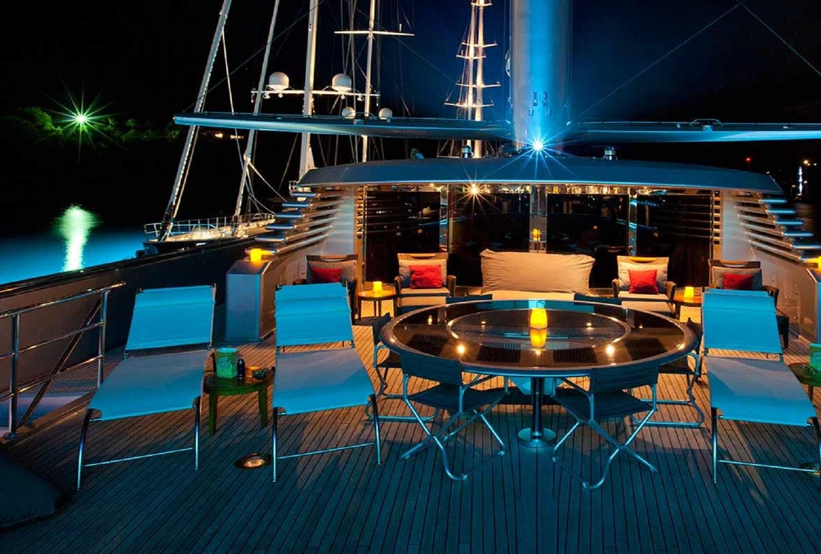 Maltese Falcon Yacht For Charter Perini Navi Yacht For